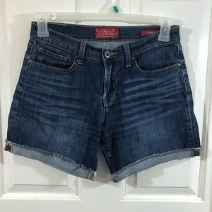 Lucky Brand The Roll Up Jean Shorts Size 4/27